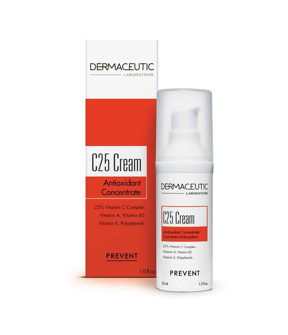 C25 Cream Hidratante 25% de Vitamina C | Dermaceutic España