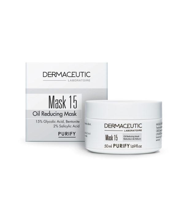 Mask 15 Mascarilla y Exfoliante Piel Grasa | Dermaceutic España